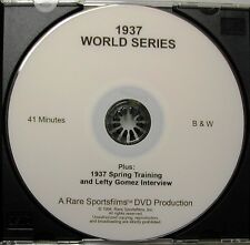 1937 World Series, Yankees-Giants, Gomez, DiMaggio, Gehrig, Hubbell on DVD!