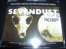 Sevendust Home/Waffle  Rare Exclusive Australian 5 Track Remix CD Single E.P