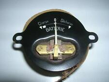 MANOMETRE DE BATTERIE OS CITROEN TRACTION NEUF ORIGINE D'EPOQUE