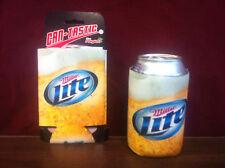Miller Lite Beer Can Bottle Koozie Coolie Cooler ~ Set of Two (2) ~ NEW &F/S