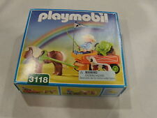 Playmobil Farmer with horse and wagon 3118 New and Sealed