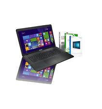 """Top ASUS F751na-ty024 17 3"""" Intel 256gb SSD 8gb RAM Windows 10 pro"""