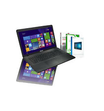 "17.3"" Asus Notebook Intel Quad Core 8GB 750GB USB 3.0 WLAN HDMI Windows 10 Pro"