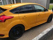 "4 x 20"" Satin Black Alloys Wheel Rims Tyres Ford Focus Rs St 5x108 245/30 8.5X20"