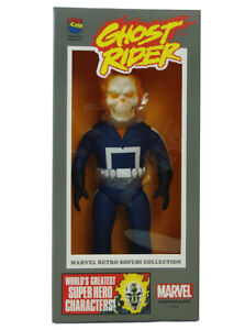 Marvel Medicom Ghost Rider Figure Retro Sofubi Collection Brand New In Box