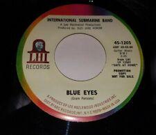 INTERNATIONAL SUBMARINE BAND Luxury Liner/Blue Eyes 1968 EX! 45 LHI GRAM PARSONS