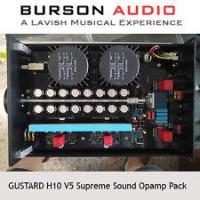 GUSTARD H10 Headphone Amp V5 SS Opamp upgrade pack