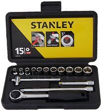 Stanley Sta086775 Prise Set of 15 Métrique 0.6cm moteur