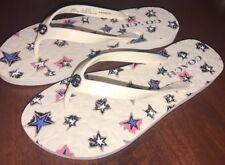 Coach Flip Flops ABBIGAIL RUBBER Sandals Size 9 New