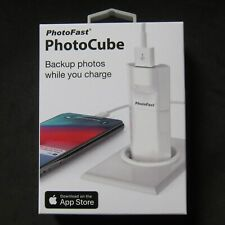 PhotoFast PhotoCube Photo Cube iPhone Charge Backup USB 3.1 AU , Europe Version