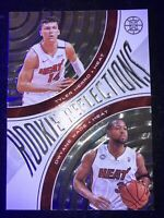 2019-20 Illusions Rookie Reflections Tyler Herro / Dwyane Wade Miami Heat!