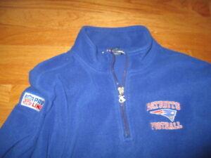 Vintage Champion Pro-Line NEW ENGLAND PATRIOTS (XL) Terrycloth Sweatshirt