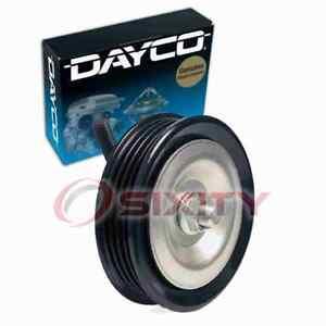 Dayco AC Drive Belt Idler Pulley for 2000-2004 Nissan Xterra 3.3L V6 Engine lm