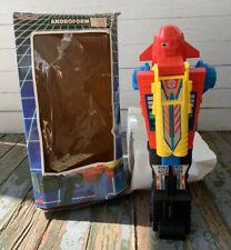 Vintage 1980s Blue-Box ANDROFORM ROBOT PISTOL Go-bots Transformers NICE