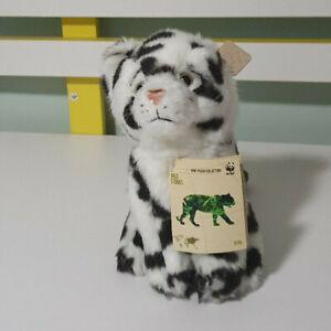 Wwf Stuffed Toy Snow Leopard (16cm) Lifelike Animal White Snow Leopard