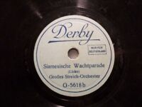 """STREICH-ORCHESTER """"Siamesische Wachtparade / Die Parade der Zinnsoldaten"""" Derby"""