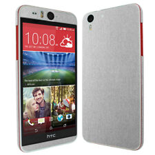 Skinomi TechSkin - Brushed Aluminum Skin & Screen Protector for HTC Desire Eye