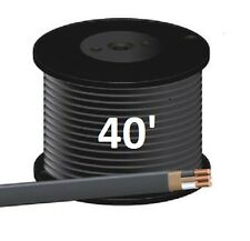 "6/2 NM/B (40') ""ROMEX"" Non-Metallic Jacket, Copper Electrical Cable, 3 Wire"