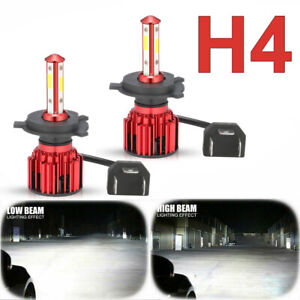H4 HB2 9003 4-Sided CREE 5000W 765000LM LED Headlight Kit Hi/Lo Power Bulb 6500K