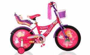 Girls Bike Kids Mountain Bicycles Mini Lightweight Portable Bikes 12/16 Inches