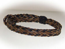 Braided Horse Hair Bracelet One Size Fits All Earth Tones
