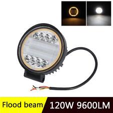 4.5 '' Osram LED Driving Lights Flood Beam Angle Eye 120W 9600LM 4x4 OffRoad SUV