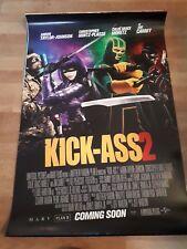 Kick ass 2 movie original cinema 1 sheet poster d/s Moretz Mintz-Plasse Aaron