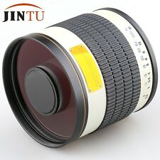 500mm f/6.3 Telephoto Mirror Lens for Canon 760D 750D 450D 1300D 1200D 80D 6D Ca