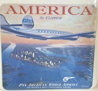 Pan American World Airways America By Clipper Aviation Airlines Mouse Pad NOS