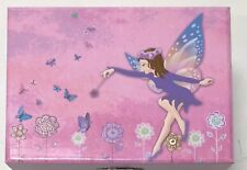 JewelKeeper- Fairy with Flowers and Butterflies Musical Jewelry Box