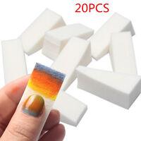 20PCS Beauty Lady Make Up Cosmetic Triangle Foundation Facial Puff Sponge Powder