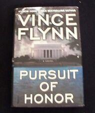 2009 Vince Flynn Pursuit Of Honor Mitch Rapp Atria CIA FBI 431 Pg HC wDJ Book NR