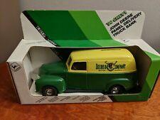 Ertl 1950 Chevy John Deere Panel Delivery Truck Bank 1/25 Scale