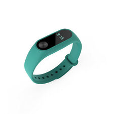 1X Wrist Band w/ Metal Buckle Replacement For Xiaomi Mi Band 2 Bracelet  Green
