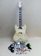 Complete NO-SOLDER DIY Kit - SG Style Set Neck Electric Guitar + Tuner + Picks