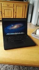 "Apple MacBook 4.1 / 2GB / 250GB HDD / X3100 / 13"" Black / OS X Lion 10.7.5"