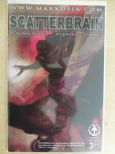 """Scatterbrain Issue 3 (Of 4) """"Cover A"""" Very Rare - 2006 Markosia"""