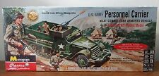 Revell 035  U.S. Army Personnel Carrier M3A1 Combat Halftrack  model kit 1/35