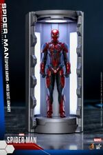Hot Toy Spider-Man Mark 3 Battle Suit Hall Of Armor Figure Model Garage VGMC006