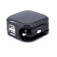 USB Charger for Car DC Cigarette Lighter Power Home Wall AC Adapter Plug 2A