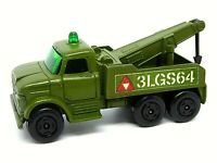 Matchbox Lesney No.71c Ford Heavy Wreck Truck (RARE MILITARY VERSION)
