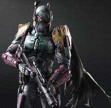 Play Arts Kai Star Wars PA Variant Boba Fett Action Figure Toy Doll Model Gift H