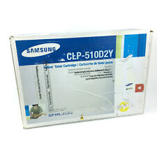 Genuine Samsung CLP-510D2Y Yellow Toner Cartridge - Stamped and Sealed