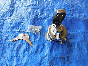 NEW IGNITION SWITCH HARLEY DAVIDSON BIG TWINS 1973-1995 REPLACES HD PN 71501-73