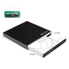 Laufwerk-Gehäuse 12,7mm SATA USB2.0 Extern CD/DVD Laufwerksgehäuse Super Speed