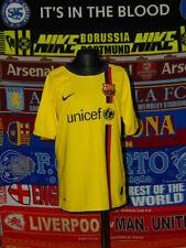 5/5 Barcelona Chicos 12-13 Años 152-158cm Mint 2008 Visitante Fútbol Camiseta