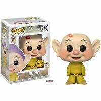 Dopey CHASE Snow White & 7 Dwarves Funko Pop Vinyl New in Mint Box + Protector