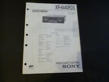Original Service Manual Sony XR-6440RDS
