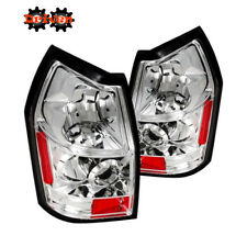 Rear Altezza Tail Light  Clear Lens Chrome Housing Red  05-08 Dodge Magnum