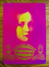 CANNED HEAT~FAMILY DOG POSTER #D7-1~DENVER 1967 1ST Printing~MOUSE & KELLEY